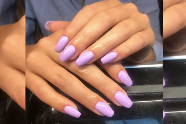 Beauty Finds: Spring 2018's Most Popular Nail Color , lilac, lilac nails, beauty, beauty, health and beauty