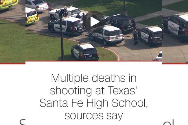 Another School Shooting Rocks the US, texas, santa fe, school shooting, teens, teenagers, high school shooting