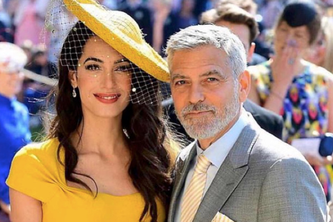Amal Clooney's Hairstylist Shared His Tips with People, people magazine, amal clooney, george clooney, hair, famous hair