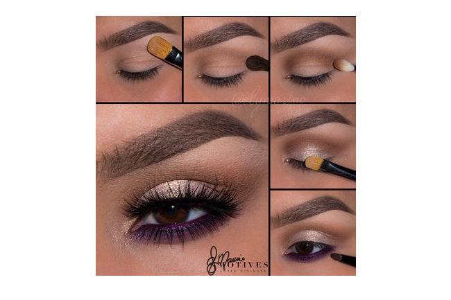 Get the Look with Motives®: Purple Frost, purple frost, eye makeup, makeup, motives, motives cosmetics