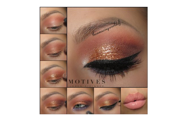 Get the Look with Motives®: Elle Glitz, motives, motives® cosmetics, motives cosmetics, loren ridinger