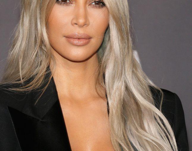 Kim K West Braids Her Hair for the MTV Movie & TV Awards, kim k west braids, kim k, kim kardashian, mtv, mtv movie and tv awards, awards, red carpet