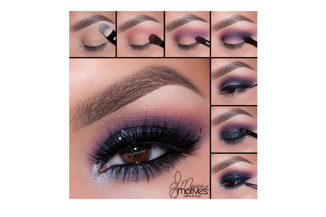 Get the Look with Motives®: Midnight, midnight, loren, loren ridinger, motives, motives cosmetics, motives cosmetic by loren ridinger,