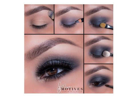 Get the Look with Motives®: Gun Metal, gun metal, motives, get the look, motives cosmetics