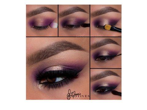 Get the Look with Motives®: Precious Purple, makeup, motives®, motives® cosmetics, loren ridinger, by loren ridinger
