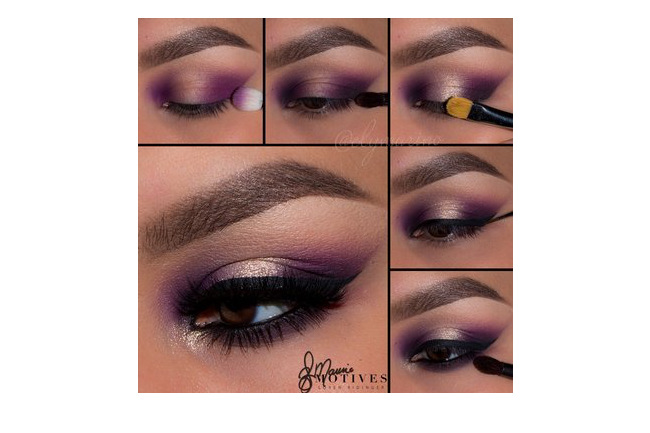 Get the Look with Motives®: Precious Purple, makeup, motives®, motives® cosmetics, loren ridinger, by loren ridinger