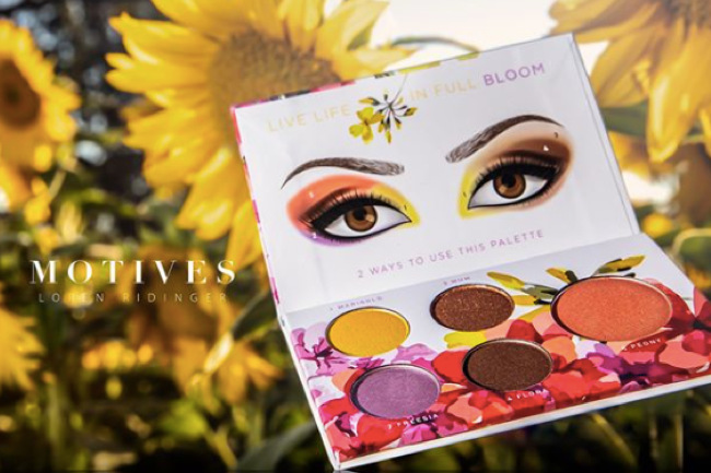 Get the Most Out of the Bloom Palette, bloom palette, motives, motives cosmetics, loren ridinger.
