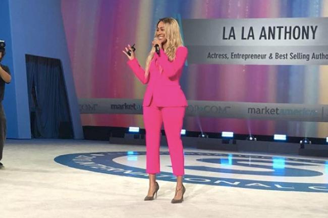 La La Anthony Talks Motives® at #MAIC2018, la la anthony, la la, maic2018, maic,