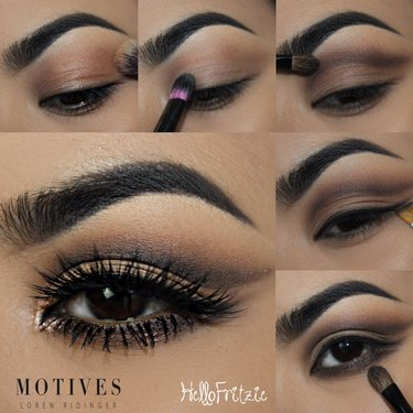 Get the Look with Motives®: Captivating Copper, copper, loren's world, loren ridinger, motives, motives® cosmetics, loren ridinger, eye makeup