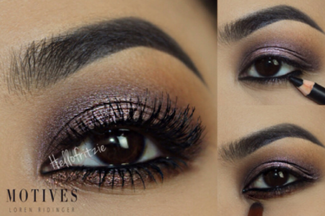 Get the Look with Motives®: Frost, frost, motives, motives® cosmetics, makeup, hello fritzie