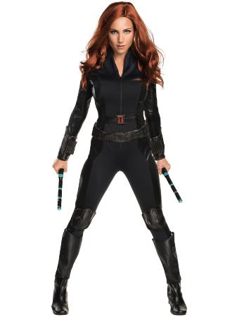 Get the Look for Halloween: Black Widow Costume, black widow, black widow costume, the avengers, scarlett johansson, halloween