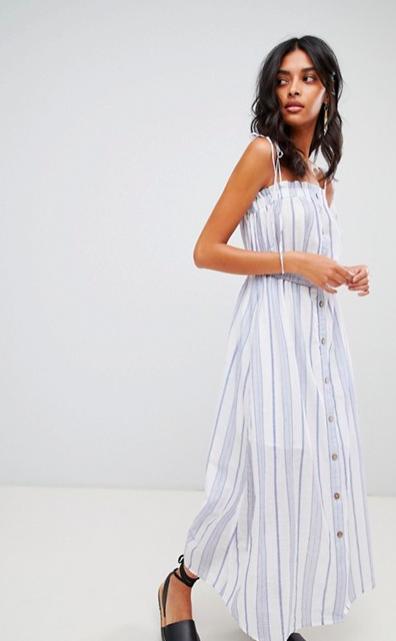 Meghan Markle's Reformation Dress for Less, meghan markle, reformation dress, meghan markle, prince harry, striped dress