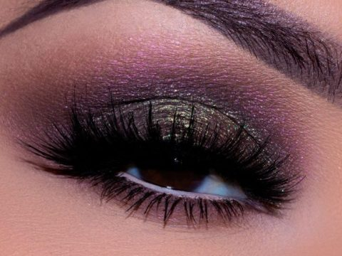 Get the Look with Motives®: Green and Purple Smokey Eye, loren ridinger, loren, motives, motives cosmetics, get the look