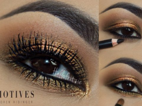 Get the Look with Motives®: Honey, honey, motives, motives cosmetics, loren, loren ridinger