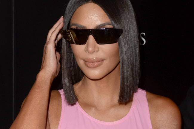 Kim K West is All About this Shade Right Now , pink, hot pink, light pink, lots of pink, kim k west, kim kardashians, kanye west,