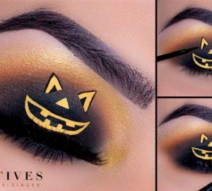 Get the Look with Motives®: Pumpkin Eye, pumpkin eye, halloween, ely marino