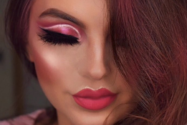 Get the Look with Motives®: Pink Wink, pink wink, pink, lima, motives, loren, loren ridinger, motives, motives cosmetics
