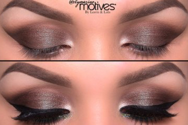 Get the Look with Motives®: Gold and Aqua, gold and aqua, motives, motives cosmetics