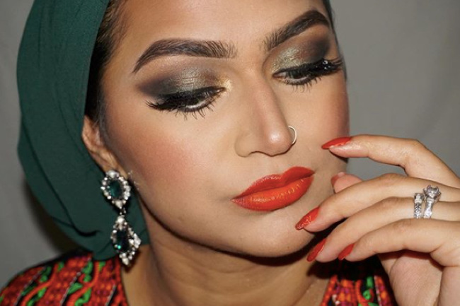 Motives® Glam Squad: @demureartistry Teams with Motives, motives, motives cosmetics, motives glam squad, demure artistry