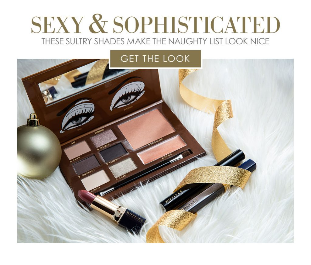 Gift Guide: Get Sexy & Sophisticated with Motives®, sexy & sophisticated, motives, cosmetics, loren, loren ridinger, gift guide