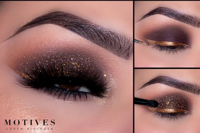 Get the Look with Motives®: Copper Shimmer, copper shimmer, get the look with motives, get the look, motives cosmetics