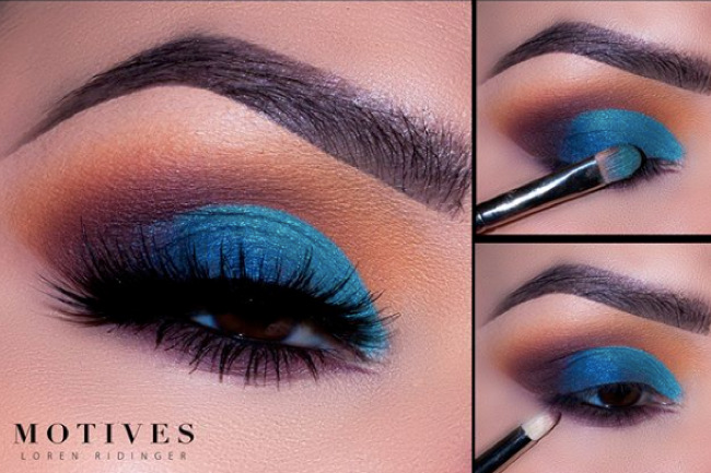 Get the Look with Motives®: Dynasty Blue, dynasty blue, demure vs dynasty, 2019, makeup, motives 2019