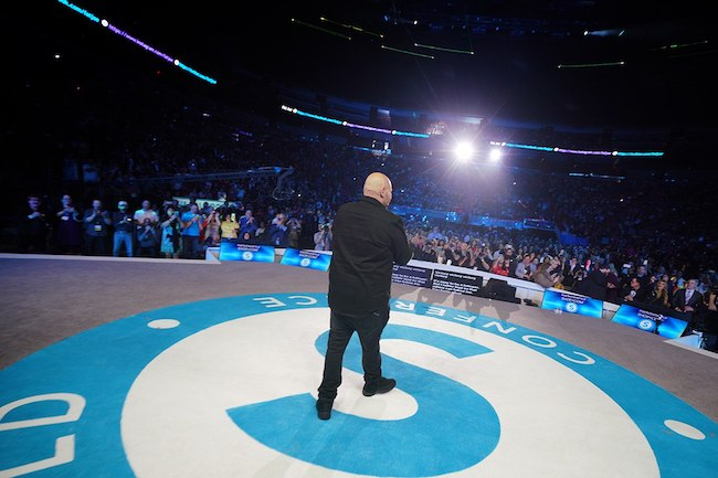 Fat Joe Goes All the Way Up on the MAWC Stage. mawc 2019, fat joe, joe, loren ridinger