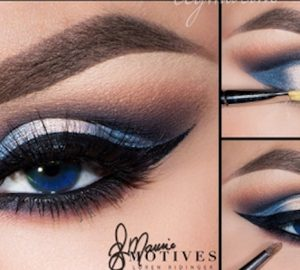 Get the Look with Motives®: Don't Let Go, patriots, blue, loren ridinger, motives cosmetics, big game