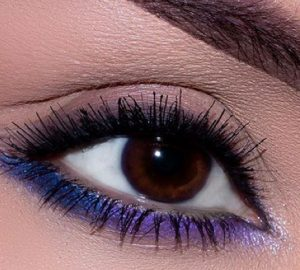 Get the Look with Motives®: Pop of Color, pop of color, purple, makeup, beauty, get the look