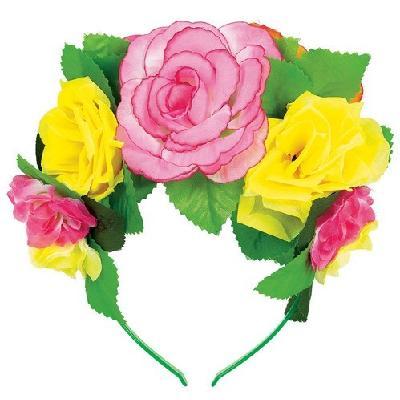 easy costume, flower crown