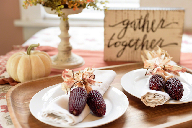 Last Minute​ DIY Thanksgiving Decor