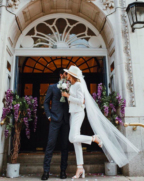 Stylish Pantsuits That Brides are Loving